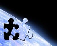 Earth horizon Stock Photography
