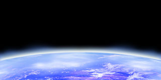 Earth horizon Stock Photo