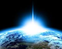 Earth horizon Stock Photos