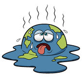 Earth in Hot Weather Royalty Free Stock Photo