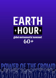 Earth Hour Movement Stock Image