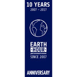 Earth Hour Movement. Vector illustration, template for banner or card Royalty Free Stock Images