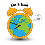 Earth hour_v8 Stock Image