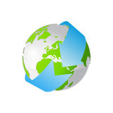 Earth icon Stock Photos