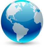 Earth icon. Royalty Free Stock Images