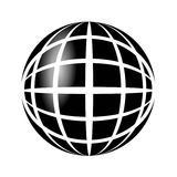 Earth icon. The Planet of Earth button. It is fit for web, apps etc Stock Image