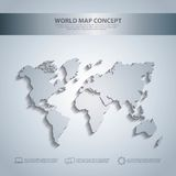 Earth icon. World and Map design. Vector graphic Stock Image