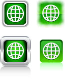 Earth  icons. Stock Image