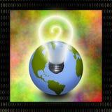 Earth idea Royalty Free Stock Image