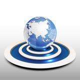 Earth. Illustration of modern earth design Royalty Free Stock Photos