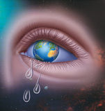 The earth cries Stock Photography
