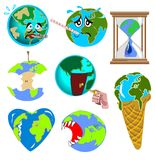Earth images royalty free illustration
