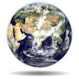 EARTH - India and China view Royalty Free Stock Images