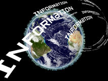 Earth Information Royalty Free Stock Images