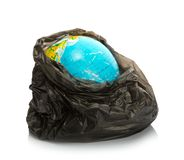Earth inside pack Stock Image