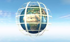 Earth in jail Royalty Free Stock Photo