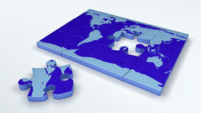 Earth Jigsaw Royalty Free Stock Photography