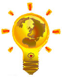 Earth lamp Stock Photo