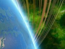 Earth-like планета Стоковые Изображения RF