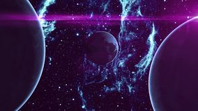 Earth Like Planet in Outer Space