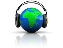 Earth listening Royalty Free Stock Photos