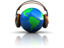 Earth listening Royalty Free Stock Photography