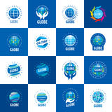 Earth  logo template. Globe sign. Stock Photography