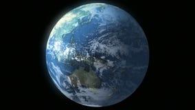 Earth Loop 01 stock footage