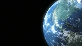 Earth Loop 02 stock footage