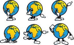 Earth Man Stock Image