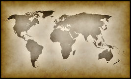 Earth map Stock Image