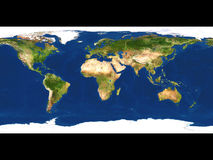 Earth map Royalty Free Stock Photos