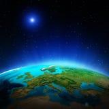 Earth map Royalty Free Stock Photos