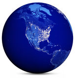 Earth map. Elements of this image furnished by NASA Stock Photo