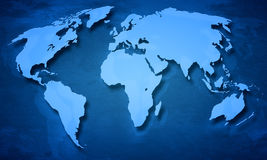Earth map Royalty Free Stock Photography