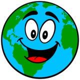Earth Mascot Stock Image