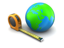 Earth measure Royalty Free Stock Images