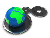 Earth mechanics Stock Photo