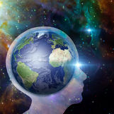 Earth Mind Royalty Free Stock Photos