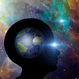 Earth Mind Royalty Free Stock Photography