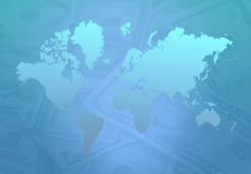 Earth Money Royalty Free Stock Photos