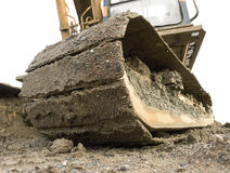 Earth mover. Close-up of earth mover Royalty Free Stock Image