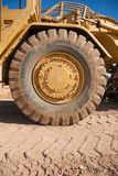 Earth Mover Tire Stock Image