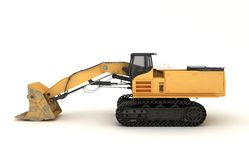 Earth mover vehicle. 3D illustration of  earth mover vehicle Stock Photos