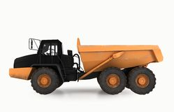 Earth mover vehicle Stock Photography