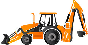 Earth mover vehicle Stock Image