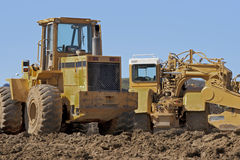 Earth Moving Construction Equipment Stock Photo