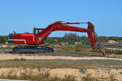 Earth Mover - Plant Machinery Royalty Free Stock Photo