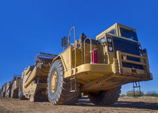 Earth moving industrial transport Stock Photography