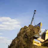 Earth moving machine Stock Photos